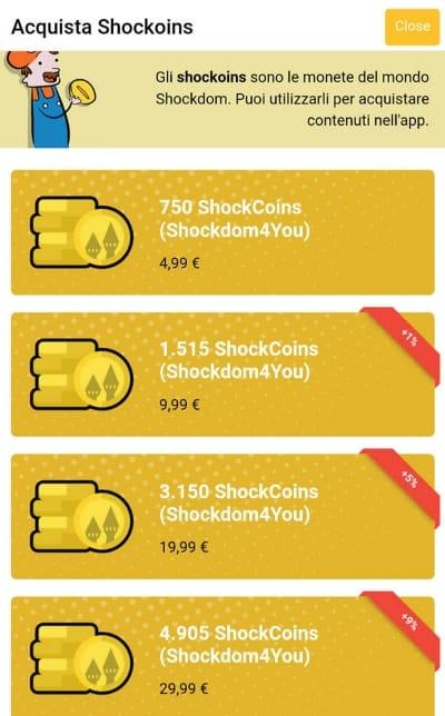 Shockdom in collaborazione con Verticomics lancia l'app Shockdom4You