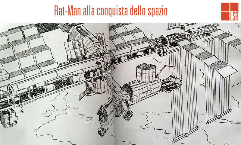 La missione di Rat-Man nello spazio
