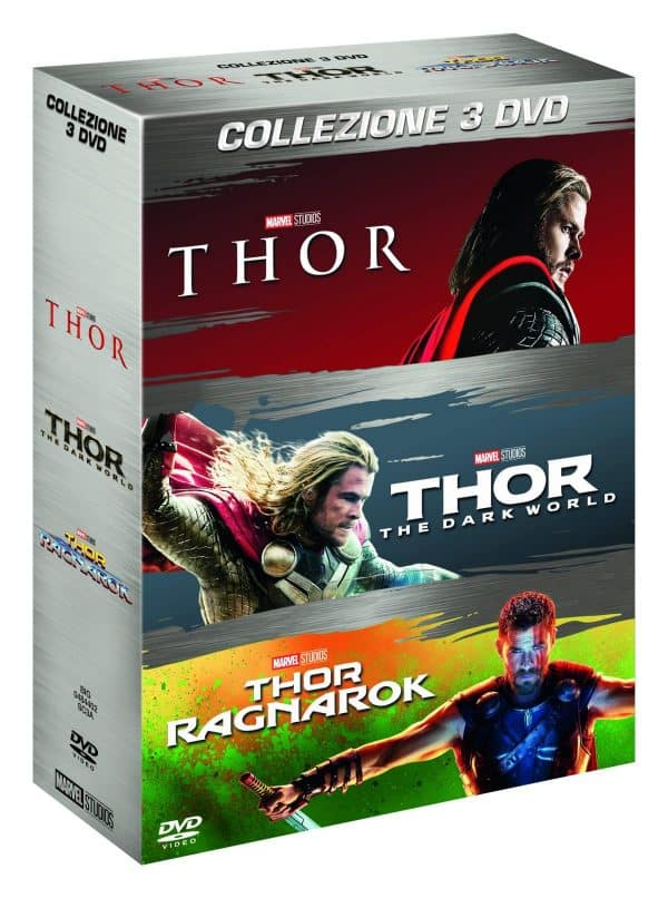 thor 1-3 dvd