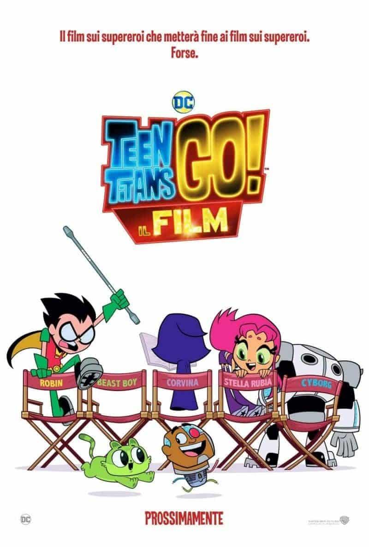 Teen Titans Go! Il film – Il teaser trailer italiano