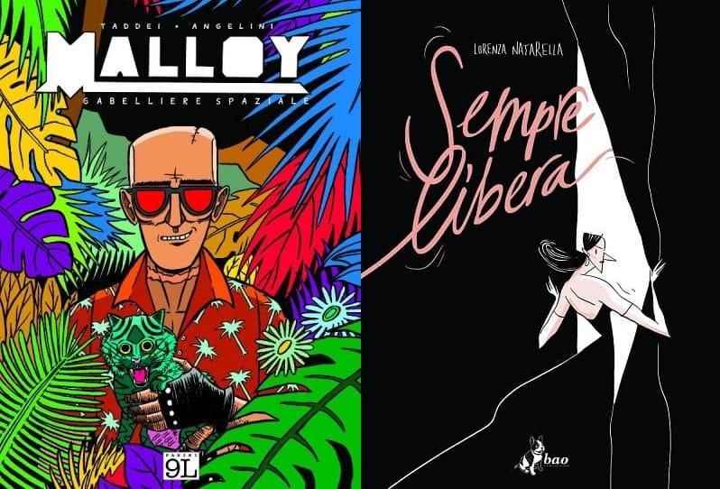 Tempo di Libri: Malloy e Sempre libera nominati per la migliore copertina