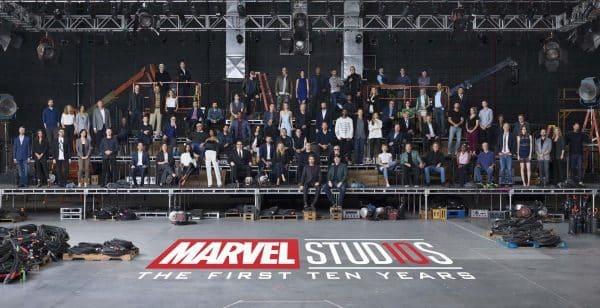 Marvel Studios festeggiano 10 anni con una foto speciale_Notizie