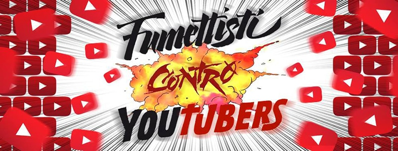 Blatta Production lancia  Fumettisti contro Youtubers