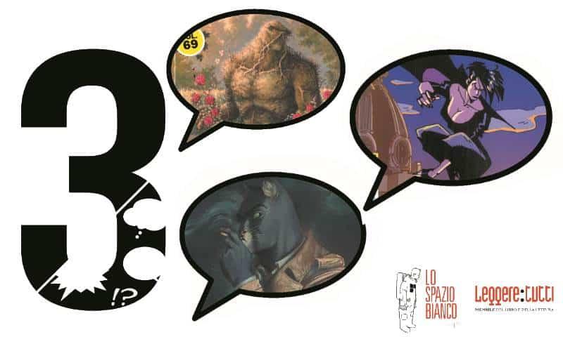 3 – Il meglio del fumetto: Blacksad, Swamp Thing e Cybersix