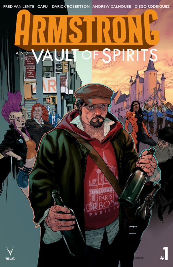 Armstrong and the Vault of Spirits 1