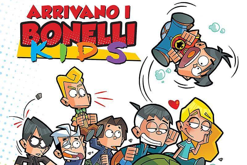 """Arrivano in libreria e fumetteria i """"Bonelli Kids"""""""