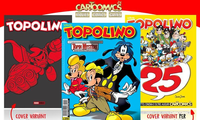 Topolino a Cartoomics 2018