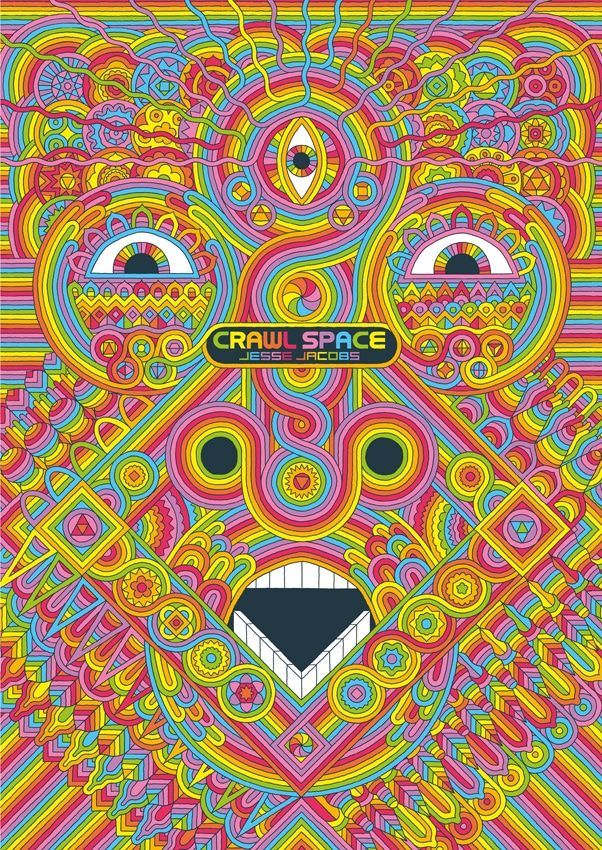 Eris Edizioni: il nuova libro di Jesse Jacobs è Crawl Space