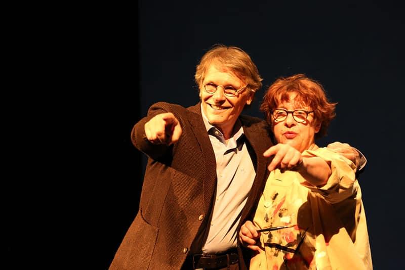 Daniel Pennac e Florence Cestac: incontro fra teatro e fumetto