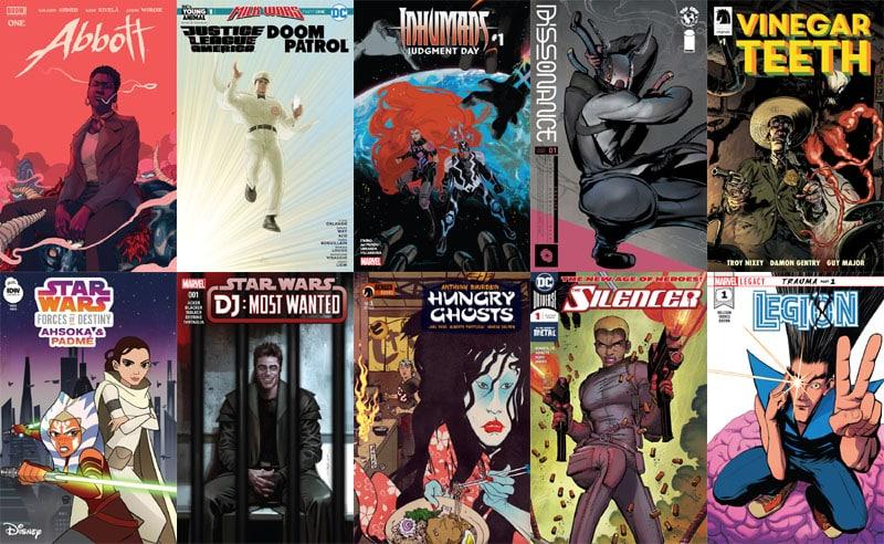Milk War con JLA/Doom Patrol Special in First Issue #18