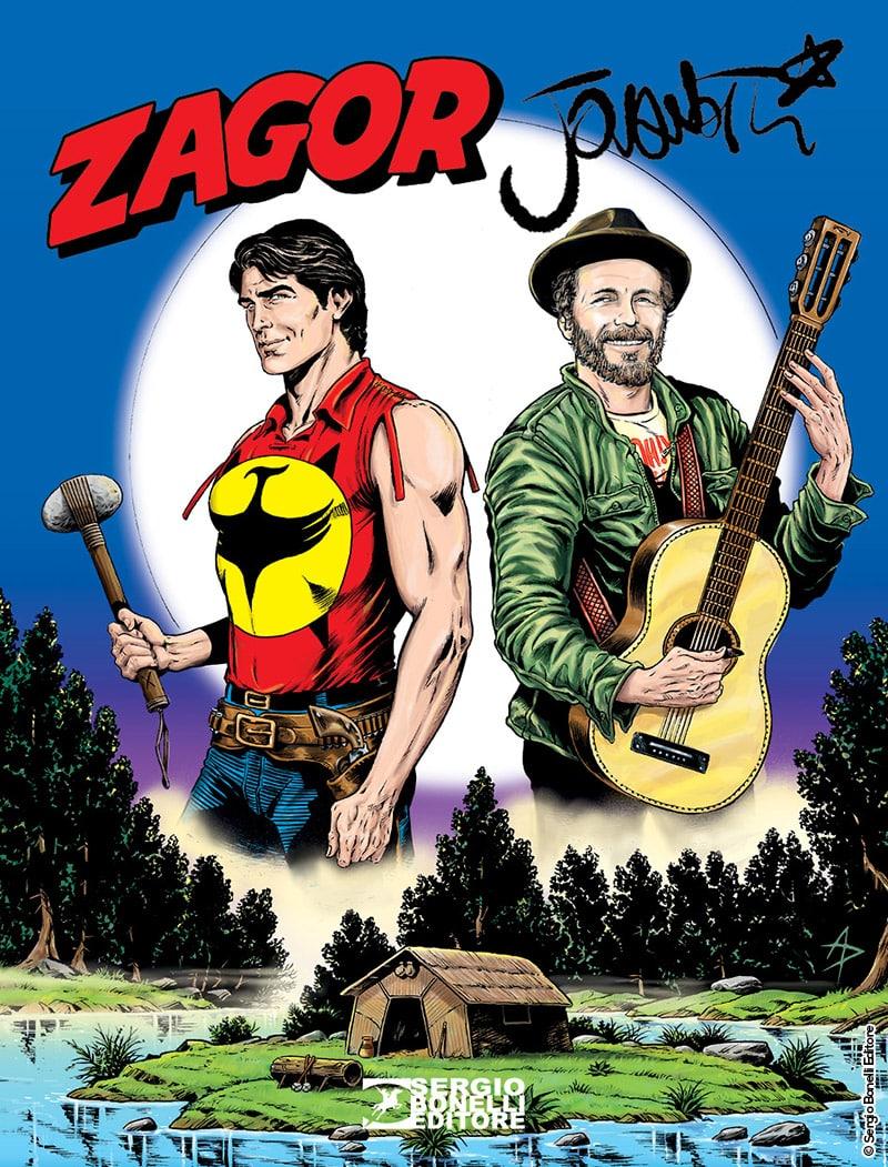 Zagor & Lorenzo: lo Spirito con la scure incontra Jovanotti_Notizie
