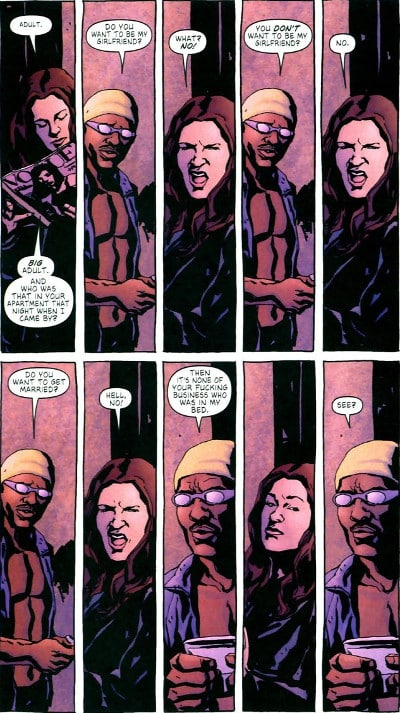 "Hard-boiled in casa Marvel: ""Alias"""