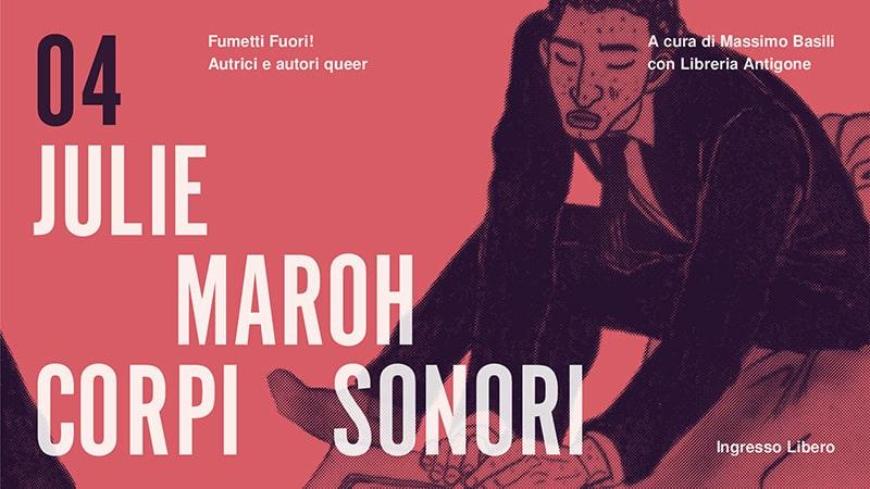 FumettiFuori!: Julie Maroh alla Libreria Antigone di Milano