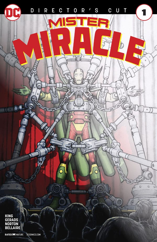 Mister Miracle 001 Director's Cut 1