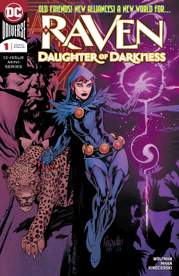 Raven-Daughter-of-Darkness-1_First Issue
