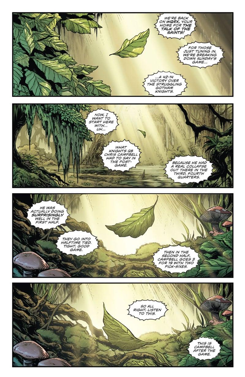 Swamp Thing Winter Special #1 - Di Morte e Mostri_First Issue Recensioni