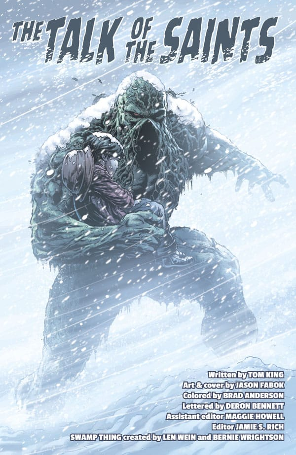 Swamp Thing Winter Special (2018-) 001-007