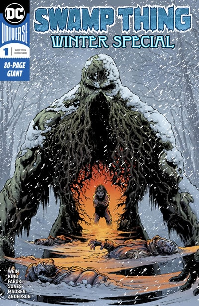 Swamp-Thing-Winter-Special_cover_First Issue Recensioni