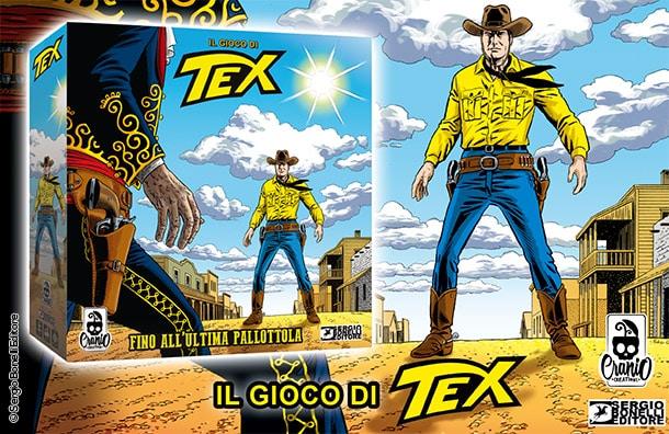Fino all'ultima pallottola: arriva il gioco da tavolo di Tex!