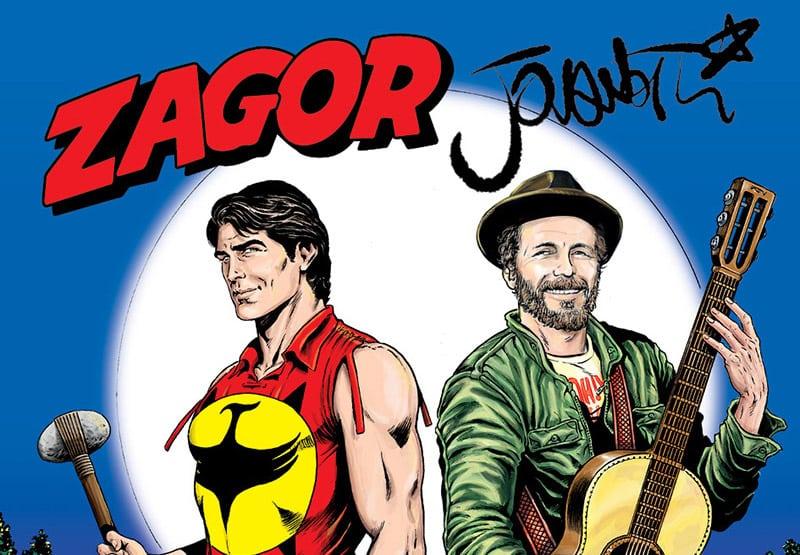 Zagor & Lorenzo: lo Spirito con la scure incontra Jovanotti