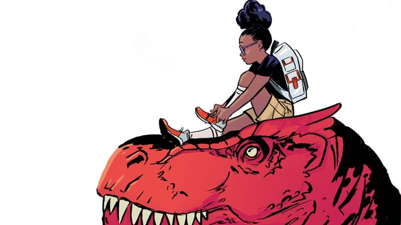 Laurence Fishburne produce serie animata di Moon Girl and Devil Dinosaur