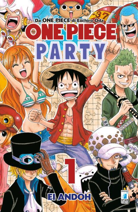 "Star Comics presenta ""One Piece party"", lo spin off comico"