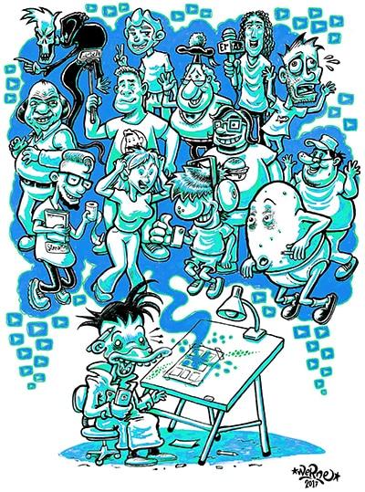 Fumettisti contro Youtubers: intervista a Stefano Werne