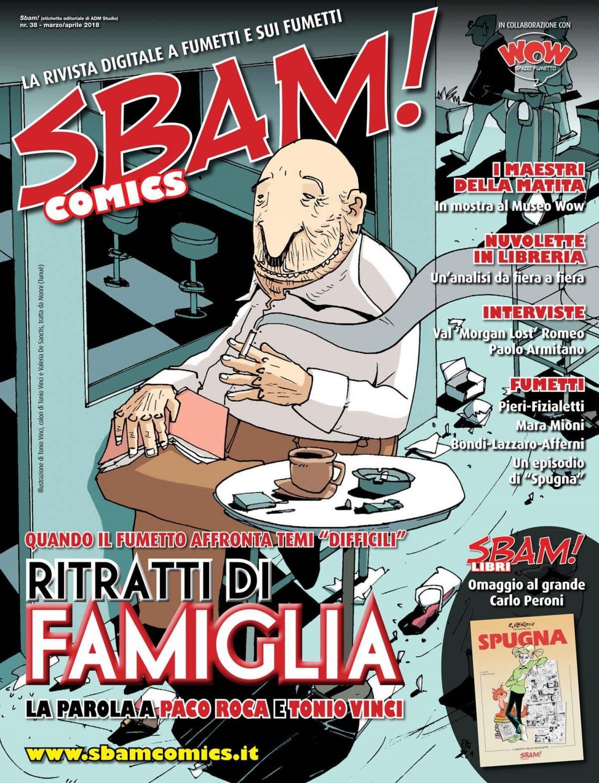 È uscito il nr. 38 di Sbam! Comics