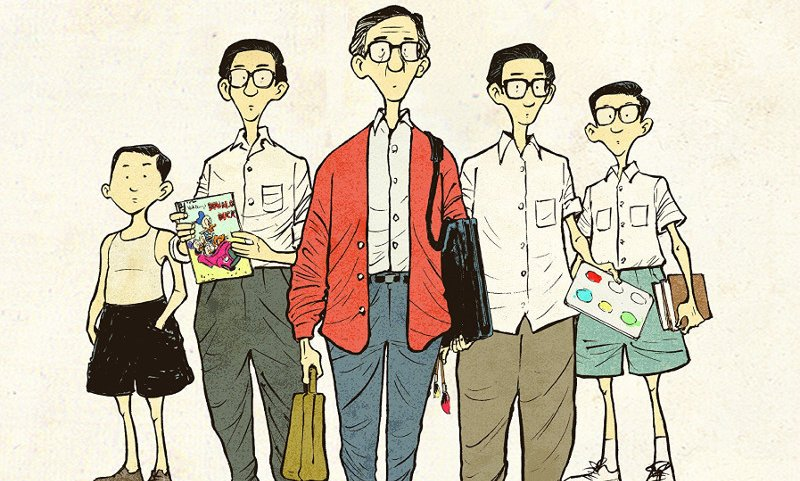 Charlie Chan Hock Cye, fumettista inesistente nella Singapore reale