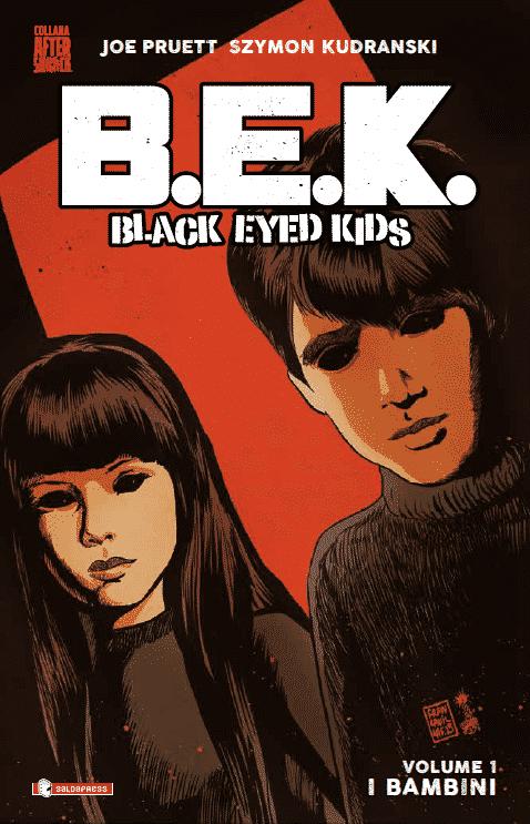 Disponibile il primo volume di Black Eyed Kids