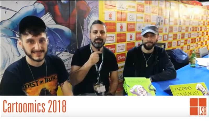 Cartoomics 2018: intervista a Marco B. Bucci e Jacopo Camagni