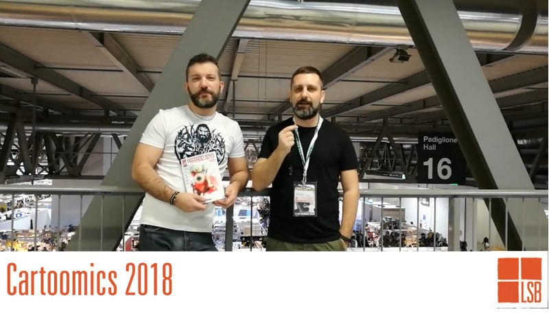 Cartoomics 2018: intervista a Andrea Cavaletto