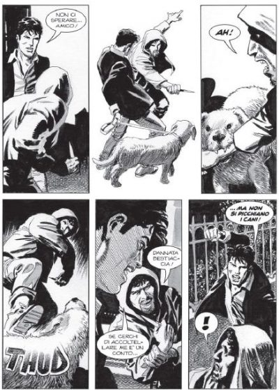Dylan Dog #378: storia di un fantasma senza infanzia_Recensioni