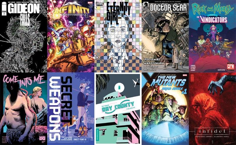 First Issue #21: da New Mutants a Gideon Falls
