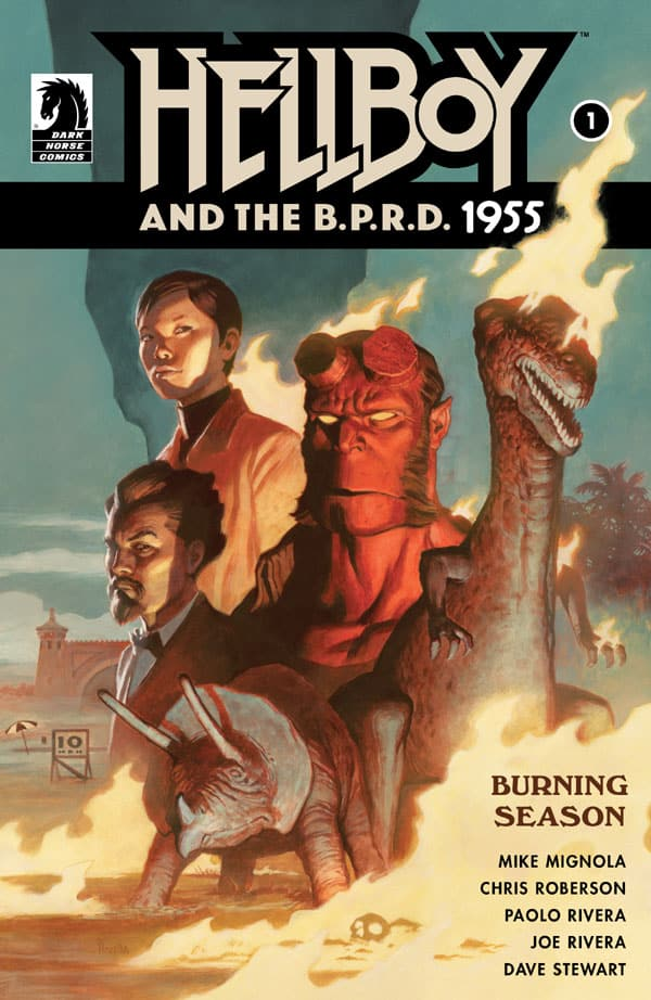 Hellboy and the B.P.R.D. - 1955-Burning Season