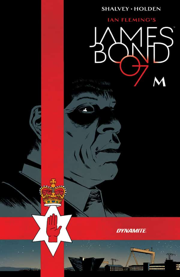 James-Bond-M_First Issue