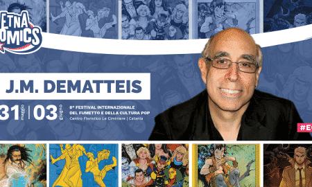 Locandina annuncio JM DeMatteis ad Etna Comics 2018