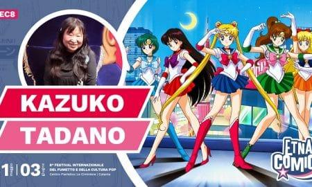 Locandina annuncio Kazuko Tadano ad Etna Comics 2018