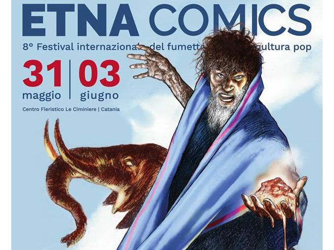 Tanino Liberatore firma il manifesto di Etna Comics 2018