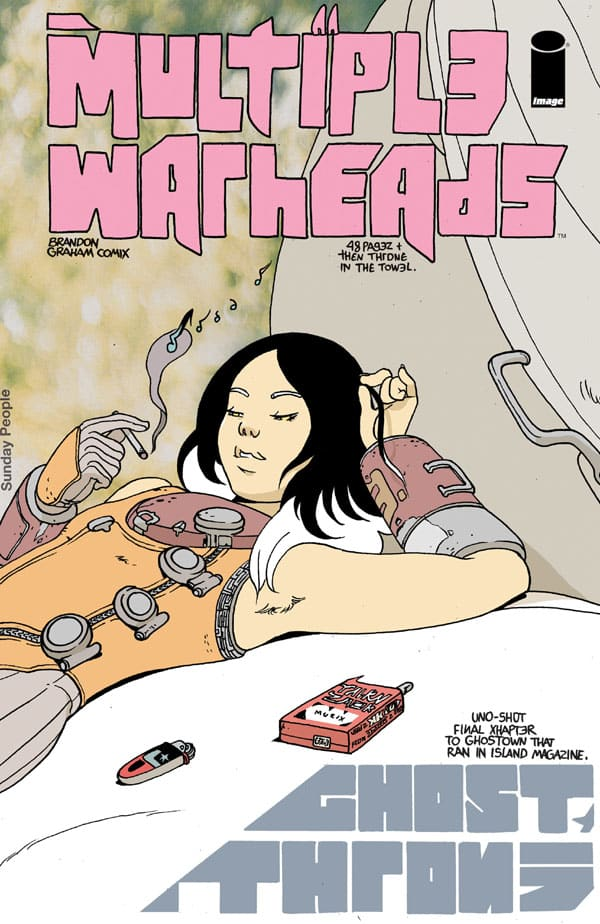 Multiple-Warheads-Ghost-Throne_First Issue