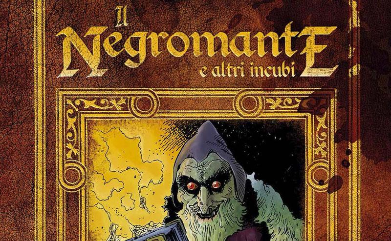 Moreno Burattini presenta Il Negromante a Cartoomics