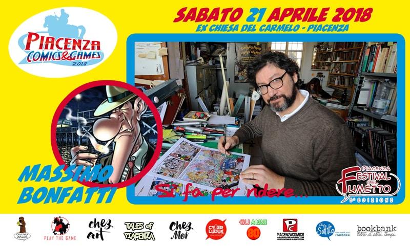 """Massimo Bonfatti al """"Piacenza Festival del Fumetto"""""""