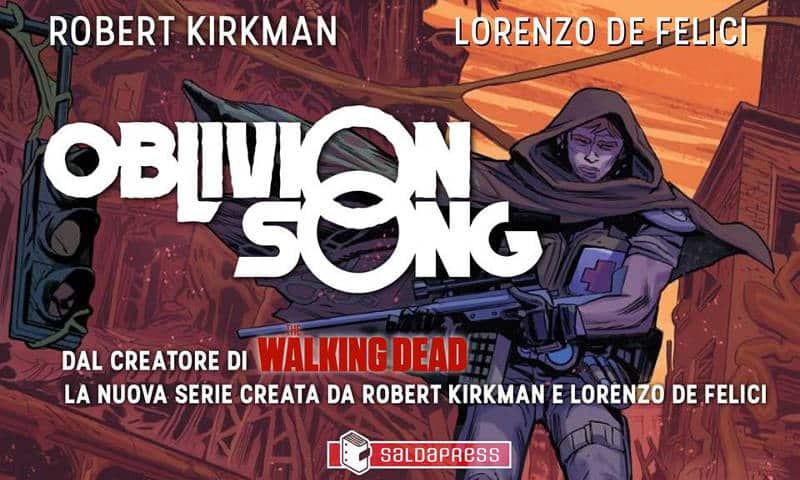 Oblivion Song Tour: incontro e firmacopie a Roma