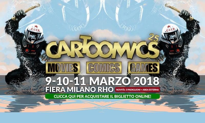 Cartoomics 2018: rapido excursus della fiera milanese