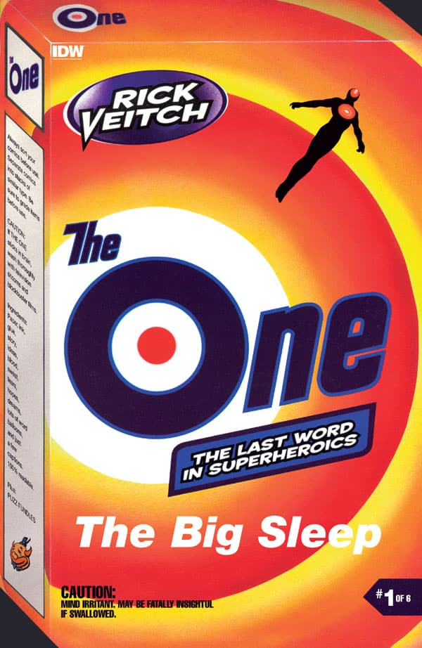 Rick Veitch's The One 1