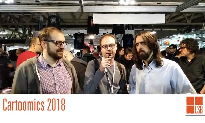 Cartoomics 2018: intervista a Giorgio Salati e Christian Cornia