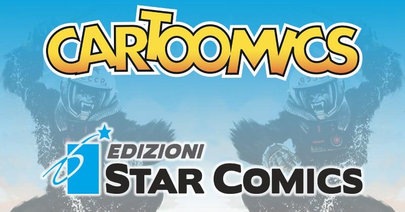 Gli annunci Star Comics a Cartoomics 2018
