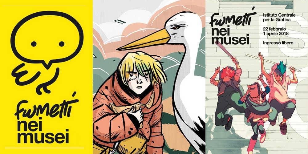 """Nasce """"Fumetti nei Musei"""": grandi artisti italiani per la cultura"""
