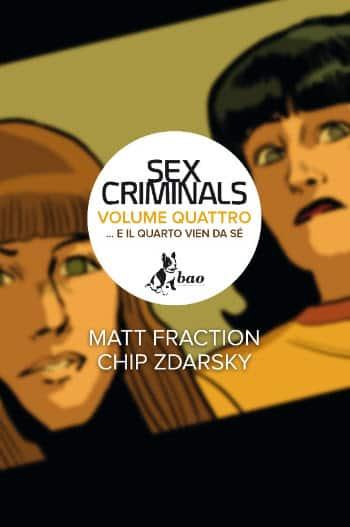 """Bao pubblica """"Sex Criminals"""" 4 di FractioneZdarsky"""