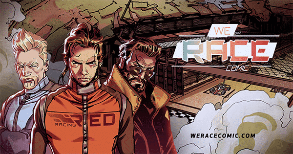 We Race Comic: un webcomic dedicato alle corse automobilistiche